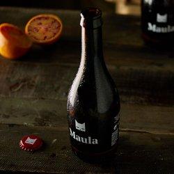1 botella de cerveza artesana con Naranjas Sanguinas