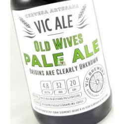 Vic Ale Old Wives