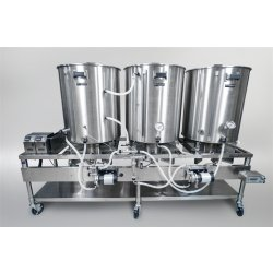 Planta Cervecera Blichmann Engineering, de 200 L, Gas -HERMS