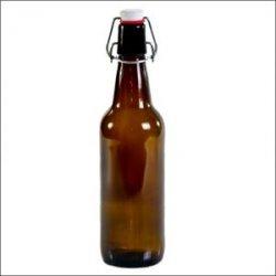 24 Botellas 50cl con tapones antiguas caseras