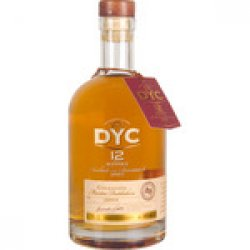 DYC 12 Años whisky reserva botella 70 cl
