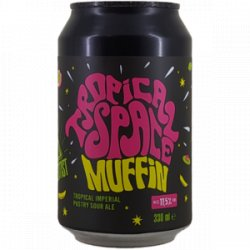 Mad Scientist Tropical Space Muffin 0,33L - Beerselection