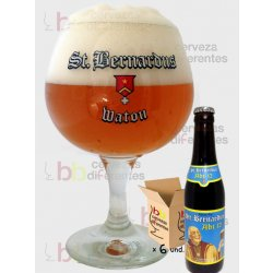 St Bernardus Pack 6 botellas 33 cl y 1 copa