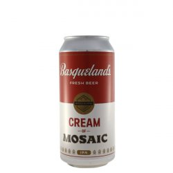 Basqueland Cream of mosaic - El retrogusto es mío