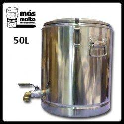 Macerador INOX 50L (con filtro compacto)...
