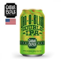 Oskar Blues Brewery Can-O-Bliss Double IPA